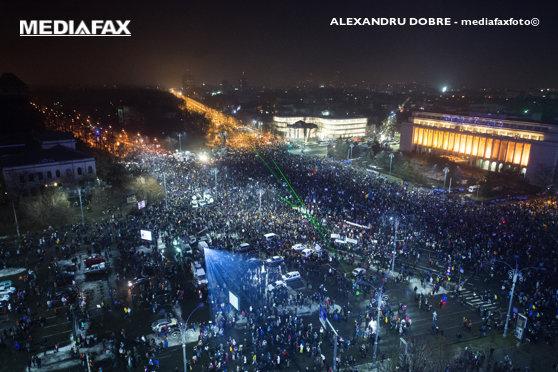Imaginea articolului Presa internaţională a relatat despre cele mai mari proteste din România de la Revoluţia din 1989