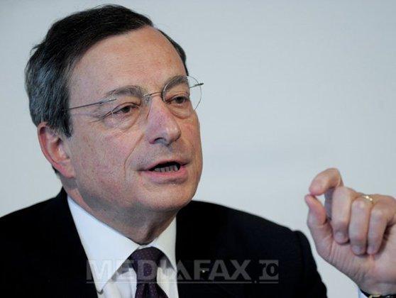 Imaginea articolului Mario Draghi, preşedintele BCE: Londra va pierde serviciile financiare în euro dacă nu menţine jurisdicţia Curţii de Justiţie a Uniunii Europene după Brexit
