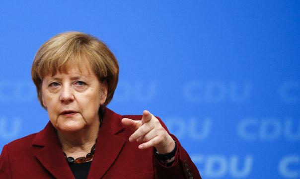 Imaginea articolului Merkel afirmă că suţine în continuare soluţia coexistenţei a două state, israelian şi palestinian