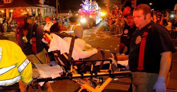 Imaginea articolului VIDEO Cel puţin 28 de răniţi, după ce un vehicul a intrat în mulţime, la New Orleans