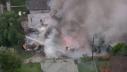 Imaginea articolului VIDEO Un avion s-a prăbuşit într-un cartier rezidenţial din California. Patru oameni au murit