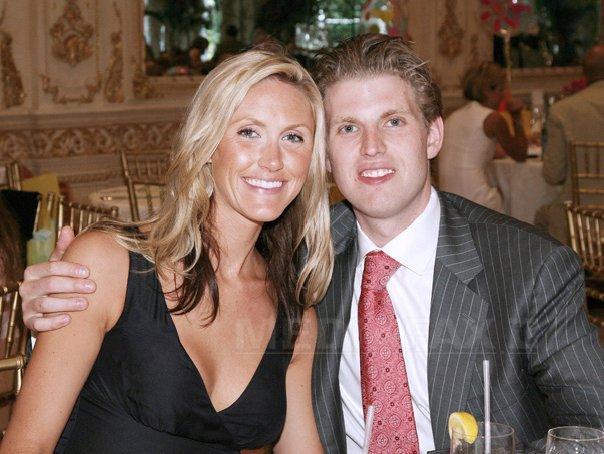 Imaginea articolului Fiul mijlociu al lui Donald Trump, Eric, şi soţia sa vor deveni PĂRINŢI pentru prima oară în septembrie