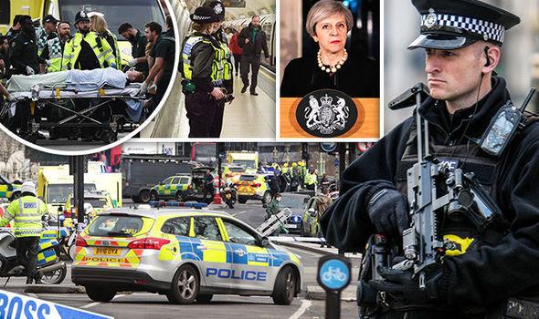 Imaginea articolului ATACUL TERORIST de la Londra: Două persoane au rămas în custodia poliţiei britanice