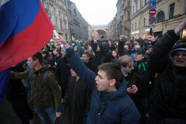 """Imaginea articolului Kremlin: Mitingurile din Rusia, """"o provocare"""". Protestatarii au fost instigaţi să comită ilegalităţi"""