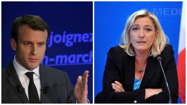 Imaginea articolului ALEGERILE PREZIDENŢIALE DIN FRANŢA: Macron şi Le Pen, clasaţi pe primele locuri, potrivit unor exit-poll-uri realizate la mijlocul zilei