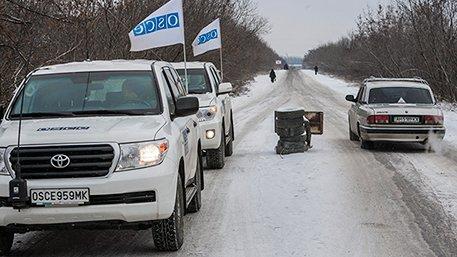Imaginea articolului Un membru al misiunii OSCE în estul Ucrainei a decedat în urma exploziei unei mine