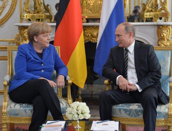 Imaginea articolului Angela Merkel se va întâlni săptămâna viitoare cu Vladimir Putin