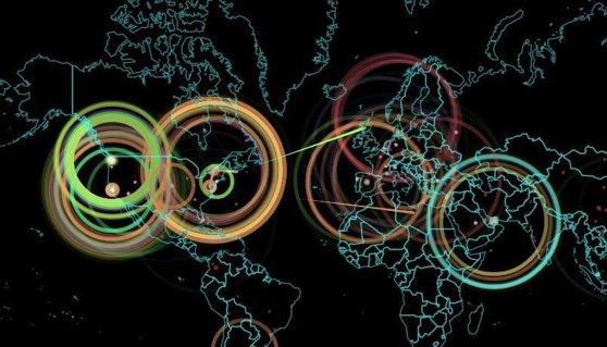 Imaginea articolului NOU ATAC cibernetic de AMPLOARE. Zeci de mii de calculatoare generează MONEDĂ VIRTUALĂ pentru hackeri. Harta LUMII cu atacuri informatice în timp REAL