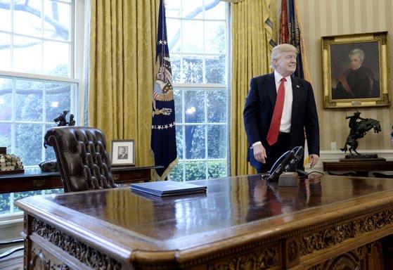Imaginea articolului Donald Trump începe primul turneu important în străinătate, în cadrul căruia va vizita Vaticanul şi Orientul Mijlociu