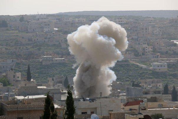 Imaginea articolului Peste 220 de civili au murit în Siria,după raidurile coaliţiei antiteroriste coordonate de SUA-OSDO