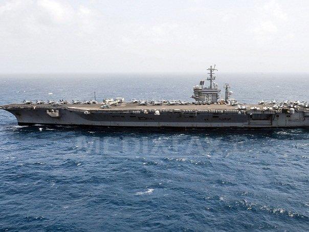 Imaginea articolului Navă militară americană a navigat în apropierea unei insule artificiale disputată de China