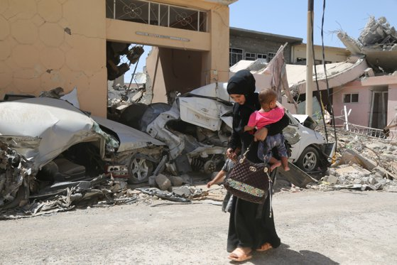 """Imaginea articolului ONU: Civilii se află """"în mare pericol"""" în cadrul ofensivei armatei irakiene asupra SI în Mosul"""