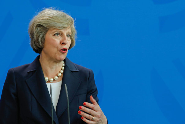 Imaginea articolului Theresa May face apel la sprijin pentru contracararea unei atitudini agresive a UE faţă de Brexit