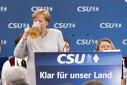 Imaginea articolului FOTO | GESTUL Angelei Merkel după ce a spus că UE nu se mai poate baza pe SUA şi pe Marea Britanie