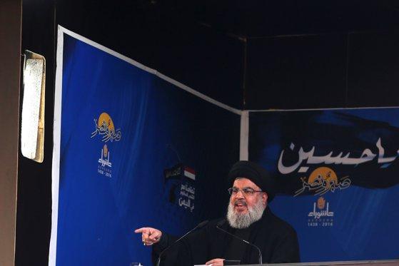 Imaginea articolului Hassan Nasrallah, liderul Hezbollah, avertizează Israelul că mii de luptători sunt pregătiţi de război
