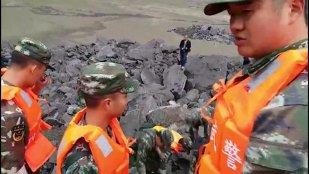 VIDEO | Alunecare de teren MASIVĂ în China: BILANŢUL, devastator