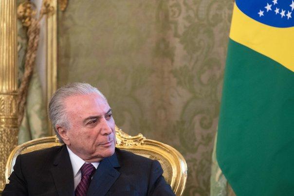 Imaginea articolului Preşedintele Braziliei, Michel Temer, inculpat pentru luare de mită. Ar fi vorba despre o sumă de peste 10 milioane de dolari