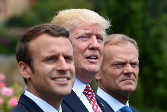 Imaginea articolului Donald Trump a acceptat invitaţia lui Emmanuel Macron de a participa la festivităţile de la Paris din 14 iulie