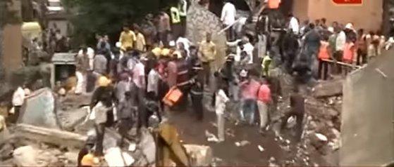 Imaginea articolului Cel puţin 17 persoane au murit în urma prăbuşirii unei clădiri în Mumbai, India