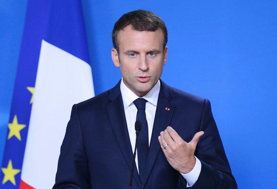 Imaginea articolului Noul preşedinte al Franţei, Emmanuel Macron, record de scădere a popularităţii la două luni de la începerea mandatului