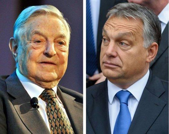 Imaginea articolului Partidul ungar Fidesz consideră că George Soros complotează la Washington împotriva Ungariei