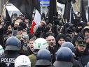 Imaginea articolului Poliţia din Berlin a reţinut 39 de persoane în urma marşului unor simpatizanţi ai extremei drepte