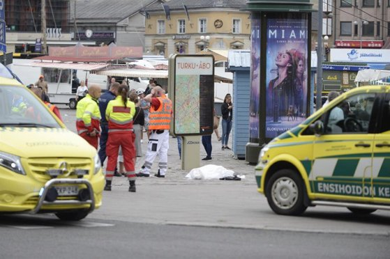 Imaginea articolului O instanţă finlandeză a anunţat numele bărbatului suspectat de comiterea atacului din oraşul Turku