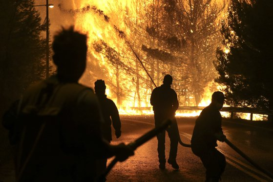 Imaginea articolului Incendiu de vegetaţie de amploare în sud-vestul Rusiei, în apropierea Mării Negre
