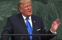 US President Donald Trump at the UN General Assembly