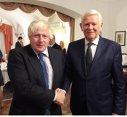 Imaginea articolului Meleşcanu a discutat cu Boris Johnson despre situaţia românilor din Marea Britanie după Brexit