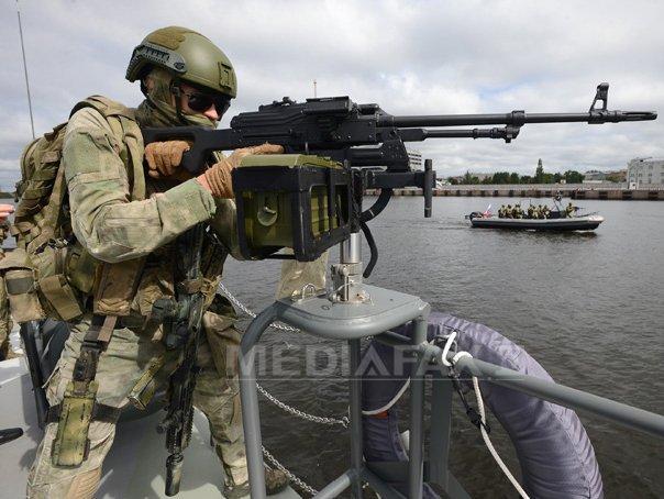 Nave NATO au efectuat exerciţii de apărare antirachetă în apropiere de Scoţia