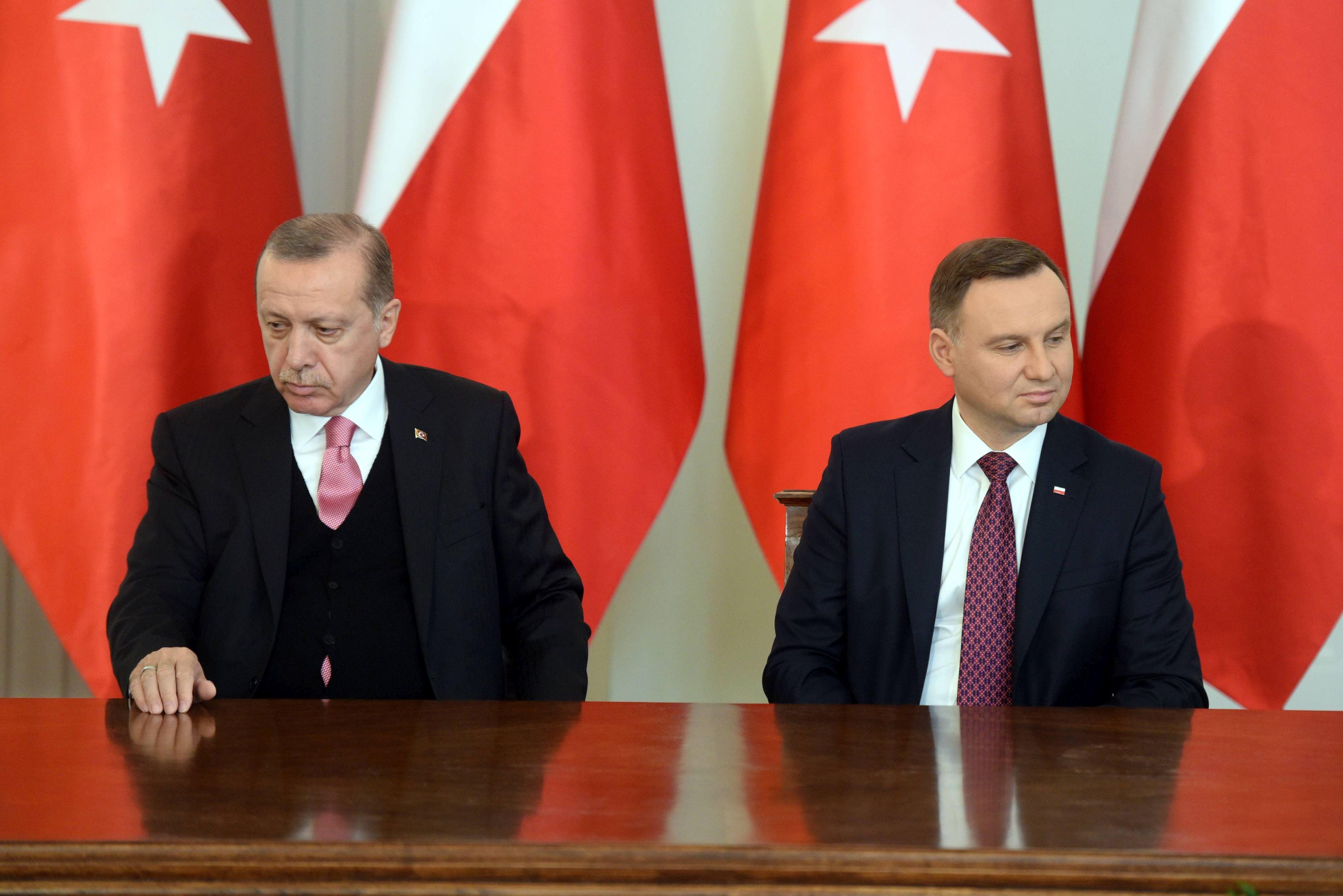 Preşedintele Poloniei: Varşovia susţine aderarea Turciei la Uniunea Europeană