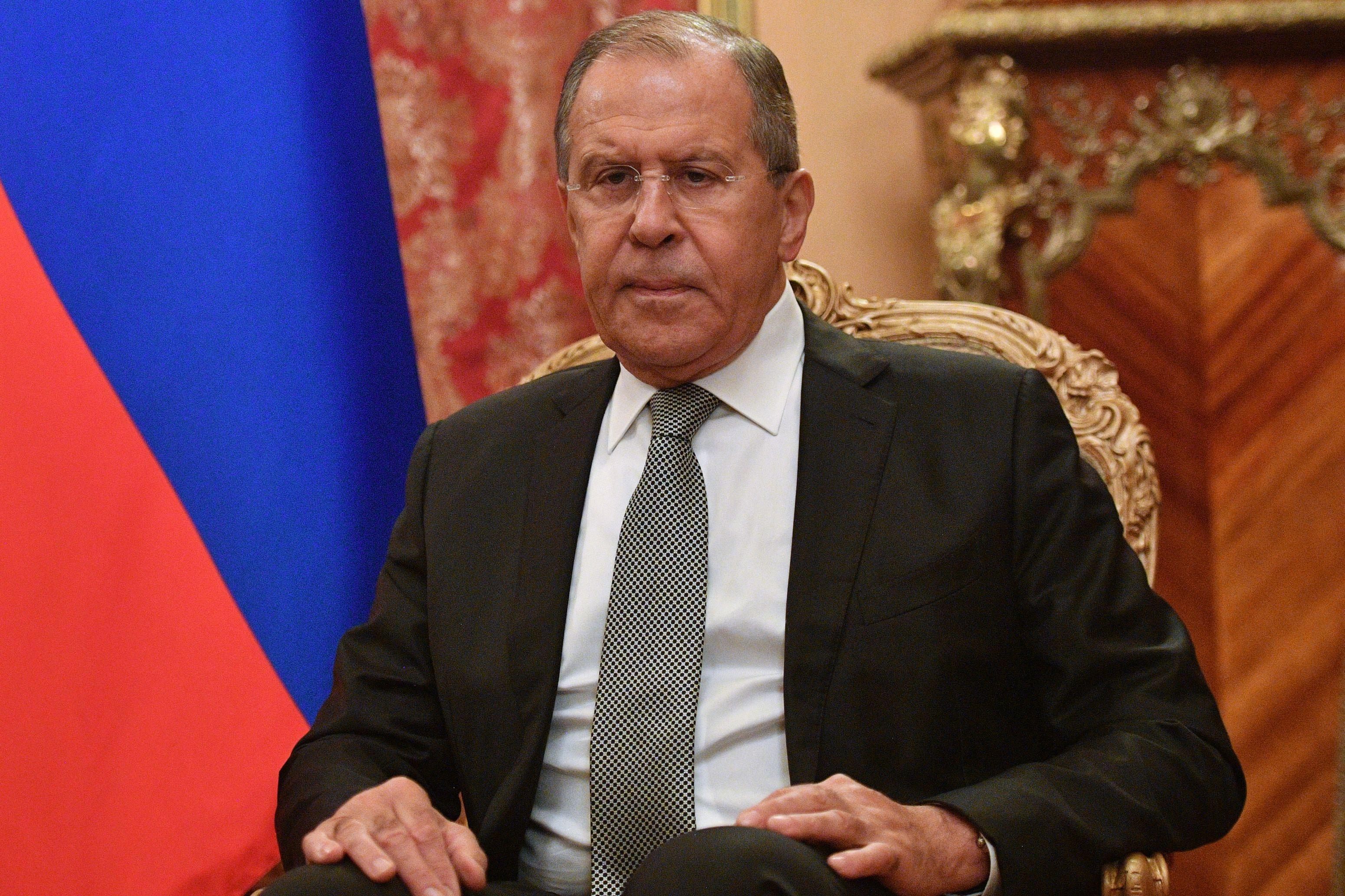 Serghei Lavrov: Occidentul utilizează tema `agresivităţii` Rusiei pentru a induce în eroare alegătorii