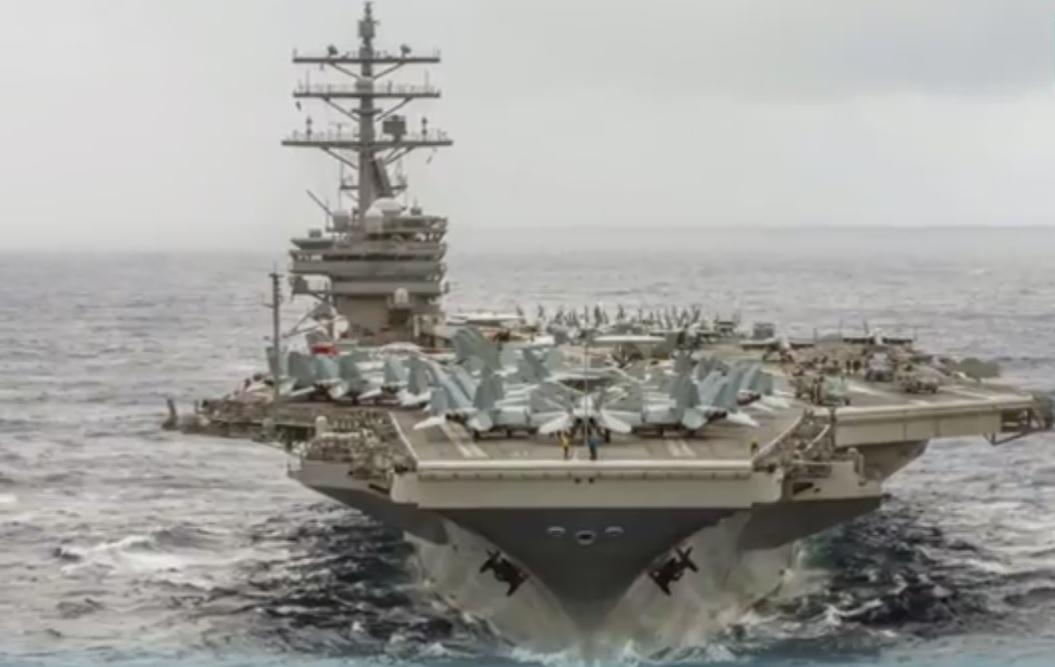 Demonstraţie de forţă: Statele Unite au trimis două portavioane în largul Asiei