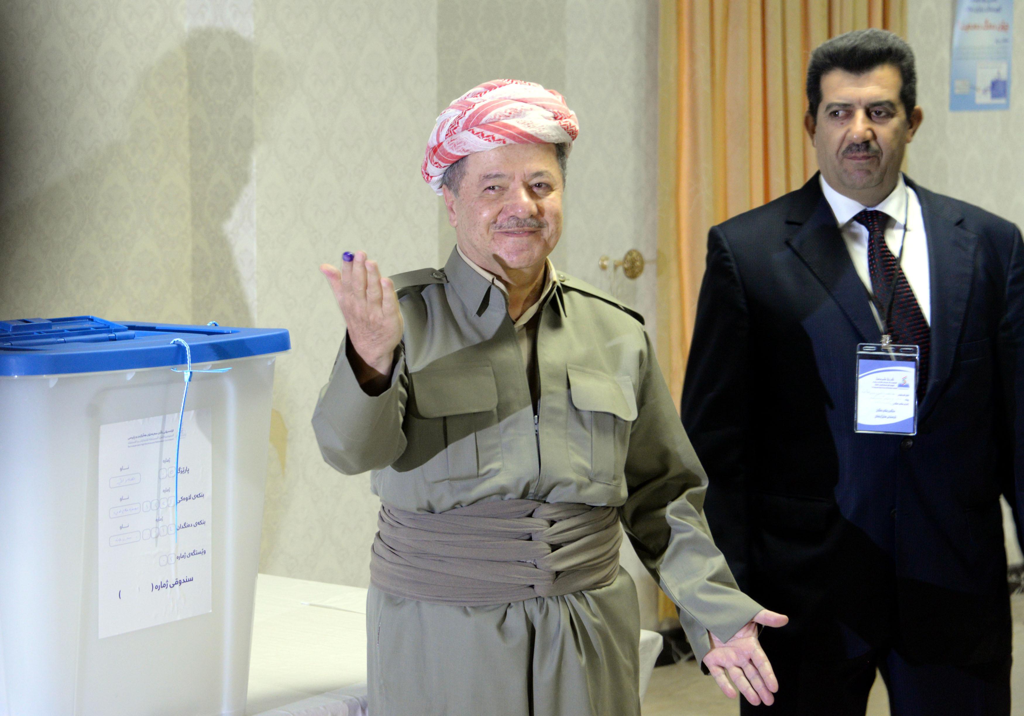 Masoud Barzani, liderul kurzilor din Irak, renunţă la funcţia de preşedinte al regiunii kurde