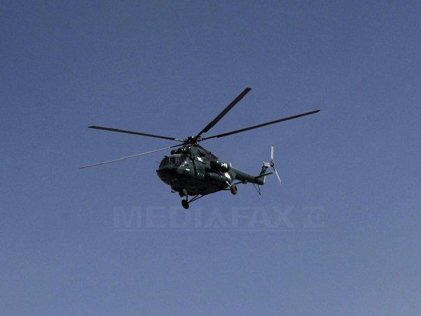 Elicopterul rus prăbuşit în Marea Groenlandei. A fost descoperit cadavrul unei persoane, la 130 de metri de locul accidentului aviatic