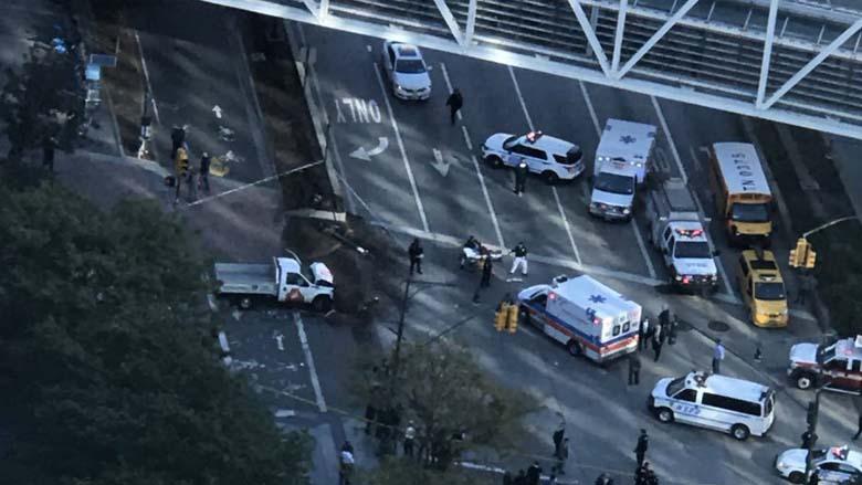 Primarul New York-ului Bill de Blasio: A fost un act terorist. Opt oameni nevinovaţi au murit