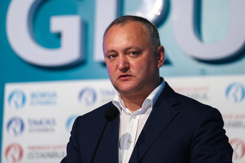 Preşedintele moldovean Igor Dodon consideră inadmisibile încercările de a legifera limba română ca limbă oficială