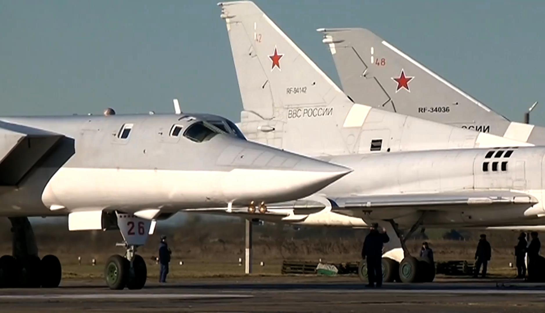 Bombardiere ruse au vizat poziţii ale Stat Islamic în Siria
