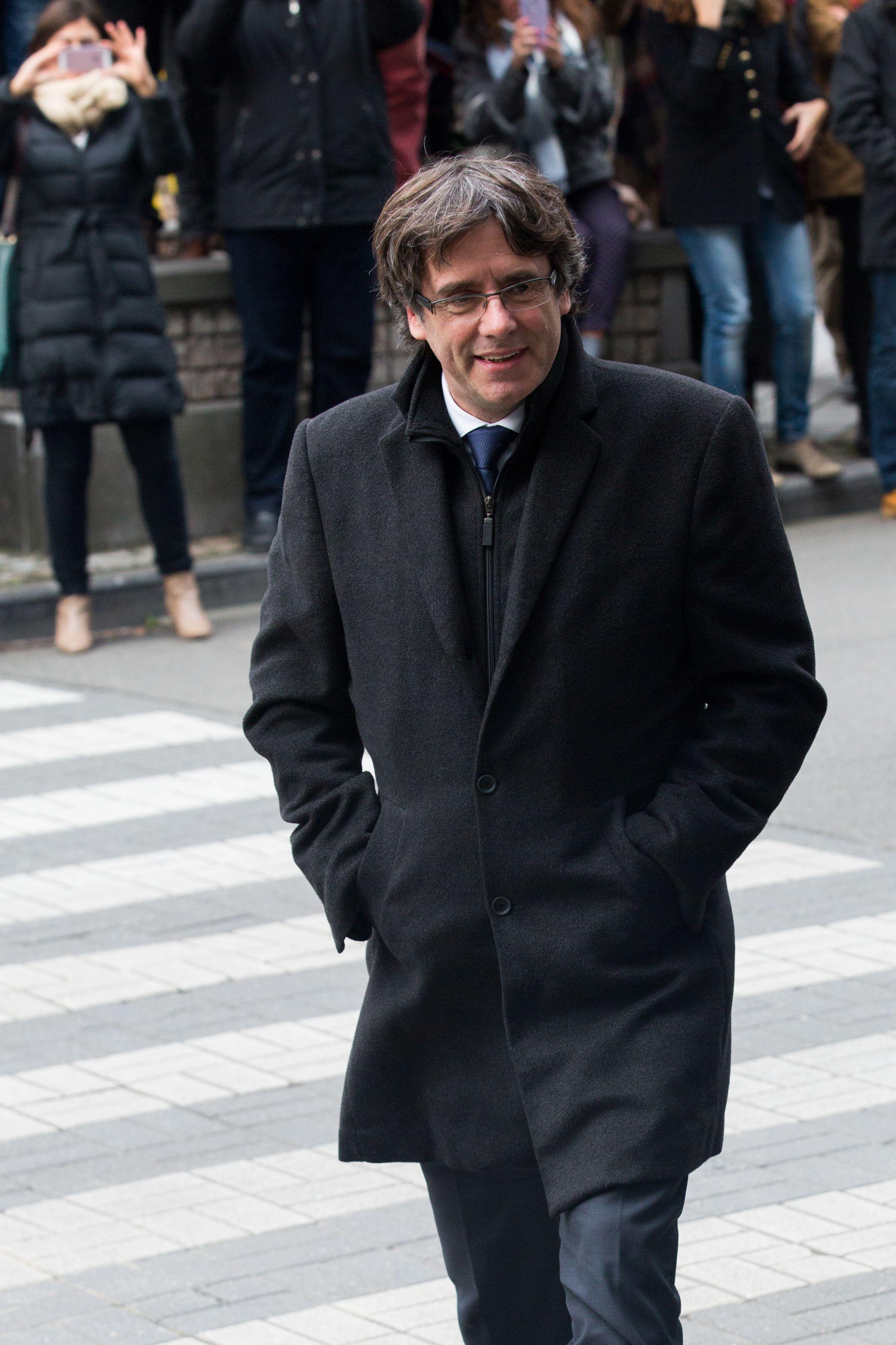Carles Puigdemont, eliberat de către autorităţile belgiene