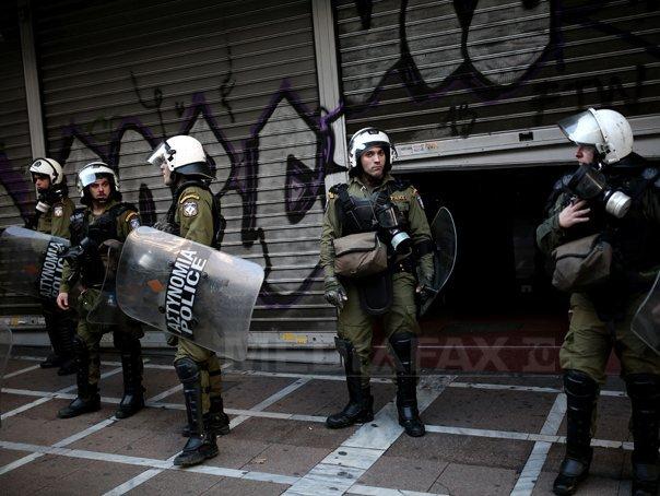 Incident armat la sediul Partidului Socialist grec, în centrul oraşului Atena