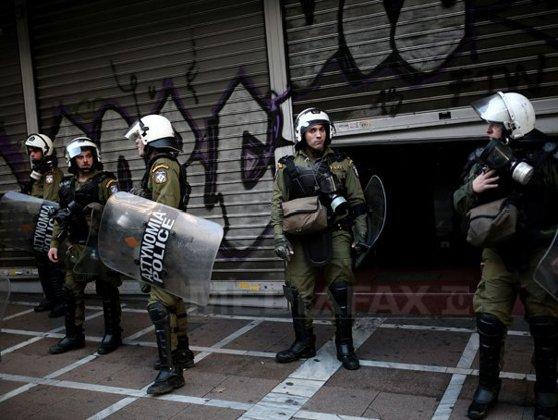 Imaginea articolului Incident armat la sediul Partidului Socialist grec, în centrul oraşului Atena