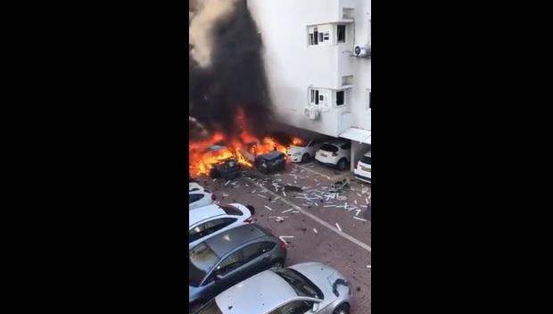 Cel puţin doi răniţi, după explozia unui vehicul în Israel / Autorităţile vorbesc de un atac de tip mafiot