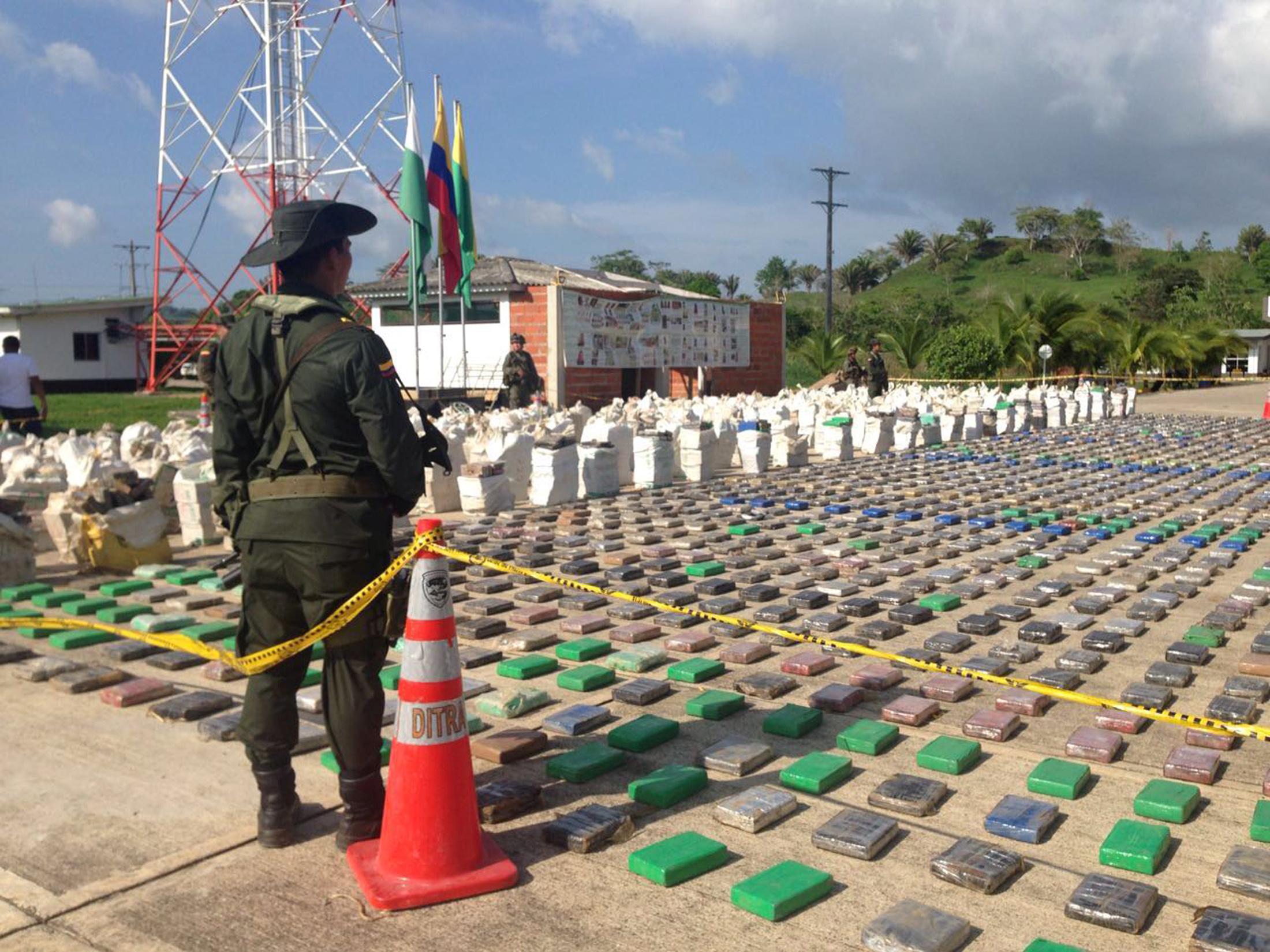 Cea mai mare captură de droguri din istoria Columbiei: 12 TONE de cocaină  / Valoarea uriaşă la care au fost estimate/ Cine este omul pentru capturarea căruia SUA au oferit o recompensă de 5 milioane dolari   FOTO