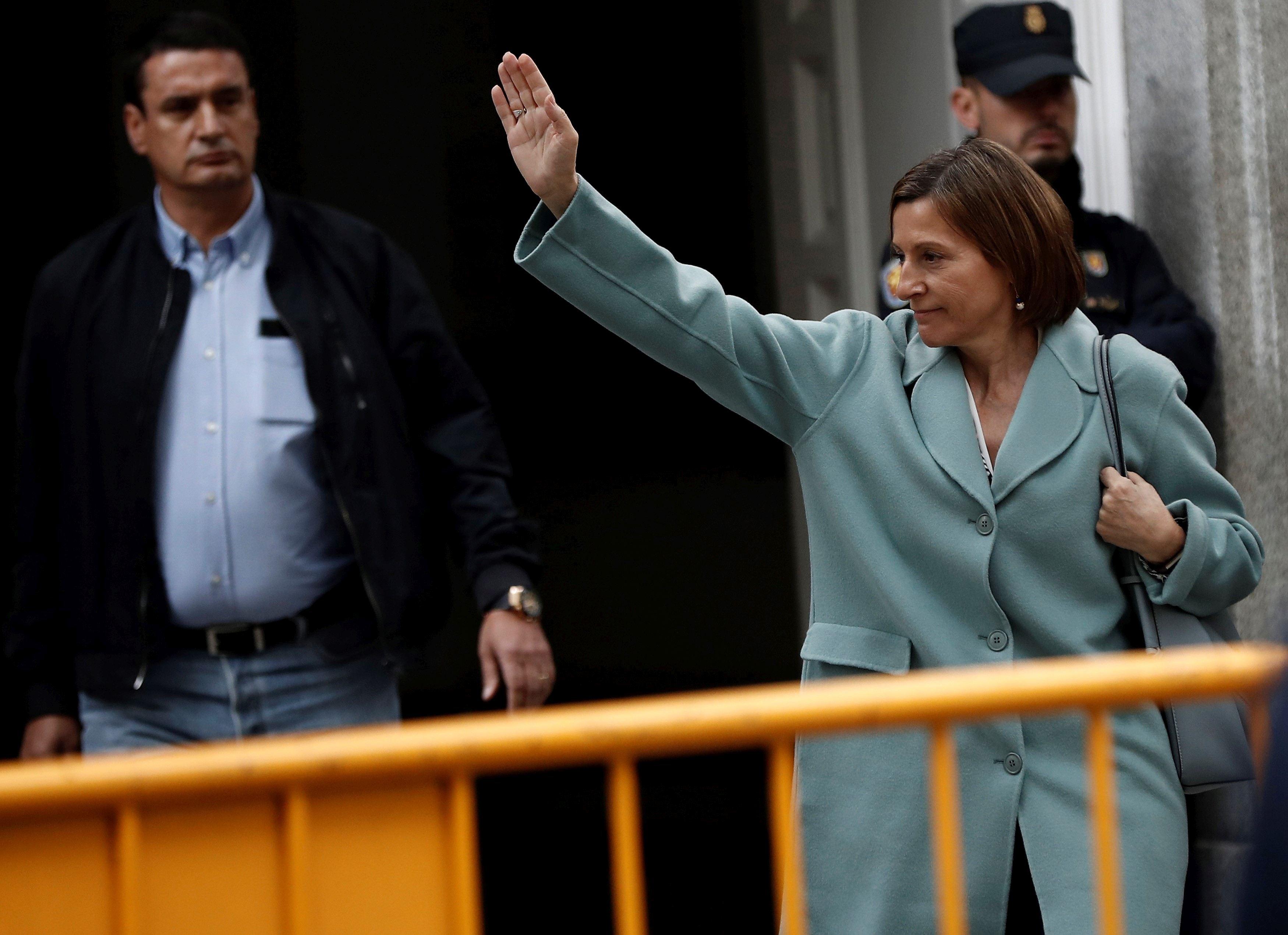 CRIZA din Catalonia: Procurorii spanioli a cerut arestarea preşedintelui Parlamentului catalan, care a semnat declaraţia de independenţă