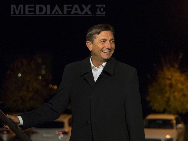 Borut Pahor a fost reales preşedinte al Sloveniei