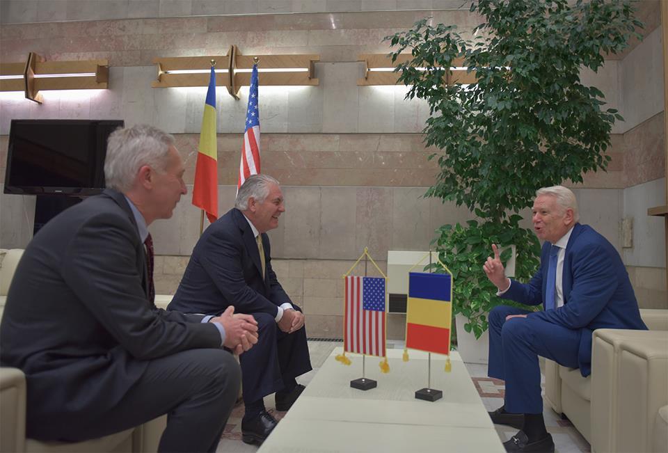 Meleşcanu: Tillerson m-a întrebat despre cvorumul de la şedinţa în care se discuta achiziţia Patriot
