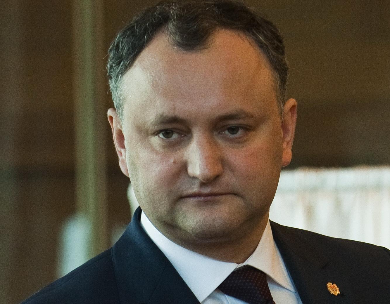 Igor Dodon: Uniunea Europeană nu este preocupată de soarta Republicii Moldova