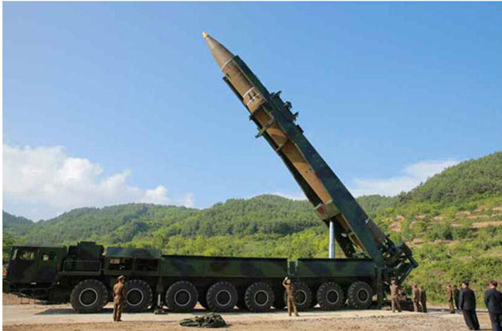 Racheta balistica nord-coreeană Hwasong-15 a fost dezvoltată cu o tehnologie nouă, susţine armata sud-coreeană