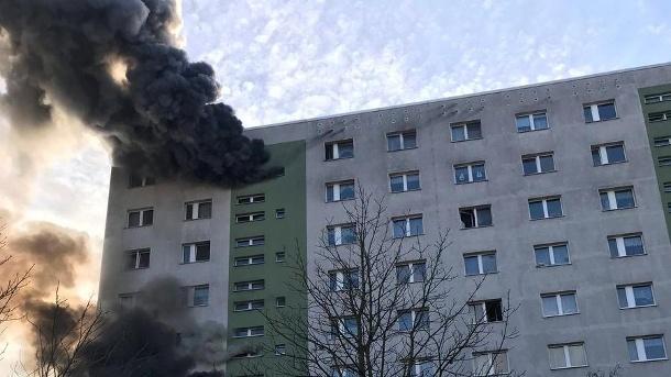 Incendiu produs într-o clădire din Berlin: Zeci de persoane au fost rănite, trei fiind în stare gravă  | FOTO